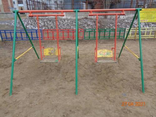 Детские площадки ул.Комсомольская, д.7