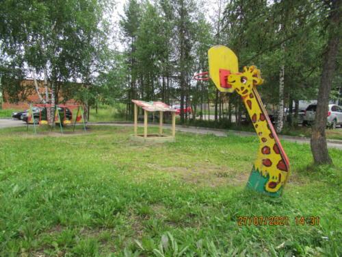 Детские площадки г.Сосногорск, ул.Советская, д.36-39